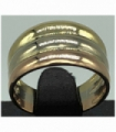 ANILLO MUJER ORO TRES COLORS 18KT MEDIDA : T 55